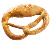 Bavarian brezel — Stock Photo
