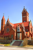 Catholic church of Saints Simon and Helena — Stock Photo