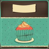 симпатичные ретро кекс — Cтоковый вектор