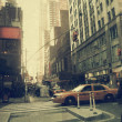 New York city. Street. Old style image — Stock Photo #10590257