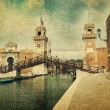 Stock Photo: Old bastille in Venice