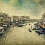 Canal with gondola. Venice — Stock Photo #10662429