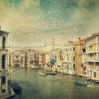 Canal with gondola. Venice — Stock Photo #10662511
