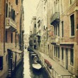 Canal with gondola. Venice — Stock Photo #10662726