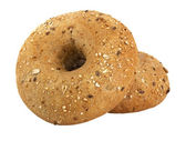 Bread. Two bagels — Stock Photo