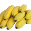 Bunch of yellow bananas — Stock Photo