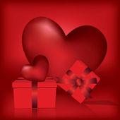 Walentynki kartkę z życzeniami — Wektor stockowy