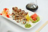 Traditional sushi — Stock Photo