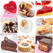Desserts Collage — Stock Photo #10538773