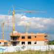 Foto de Stock  : Houses under Contruction