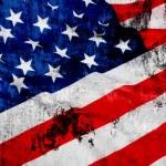 Grungy USA Flag — Stock Photo