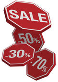 Sale Sign — Stock Vector