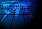 Negocio global — Vector de stock