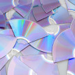 Broken CDs — Stock Photo
