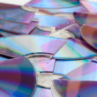 Broken CDs — Stock Photo #8866950