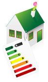 Eco Friendly House — Cтоковый вектор