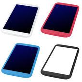 мобильный телефон - планшет — Стоковое фото