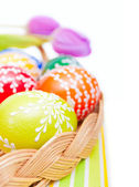 Easter Painted Eggs — Stock Photo