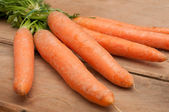 Raw Carrots — Stock Photo