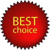 En iyi seçim — Stok Vektör