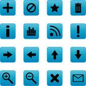 Website elementen voor webdesigners — Stockvector