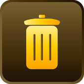 Icon Series - Trash Can — Stock Vector