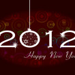Happy new year 2012 — Foto Stock