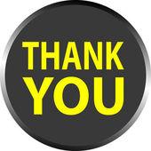 """Vector """"thank you"""" — Stock Vector"""