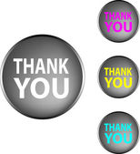 "Vector ""thank you"" — Stock Vector"