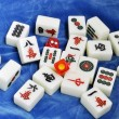 Chinese mahjong tiles — Stockfoto