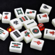 Stock Photo: Chinese mahjong tiles