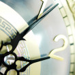 Clock hands, shallow DOF — Stock Photo #10050590