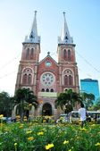 Historic Cathedral in Ho Chi Minh,Vietnam — Foto de Stock