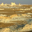 Landscape of the famous white desert in Egypt — Stockfoto