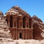 Treasury at Petra,Jordan — Stock Photo