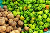Potato and pepper — Stock Photo