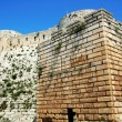 Ancient castle in Syria — Stock Photo