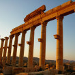 Relics of Palmyra in Syria at sunset — ストック写真