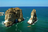 Pigeon Rocks,Beirut Lebanon — Stock Photo