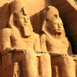 Royalty-Free Stock Photo: Ramses II statues at Abu Simbel,Egypt