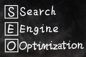 Search engine optimization - SEO concept — Stock Photo