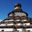 Grand pagoda at Gyangze lamasery,Tibet — Stock Photo
