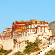 landmark of potala palace in tibet — Stock Photo