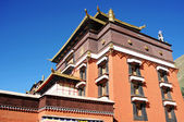 Tibetische lamasery — Stockfoto