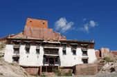 Typical Tibetan building — Stock Photo