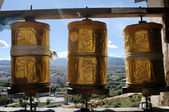 Prayer wheels — Stock Photo