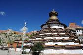 Gyantse rahipleri, tibet — Stok fotoğraf