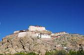 древний тибетский замок — Стоковое фото