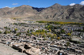 Tibetan city — Stock Photo