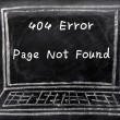 Page not found — Stock Photo